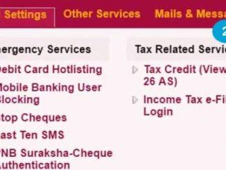 set reset debit card pin using net banking
