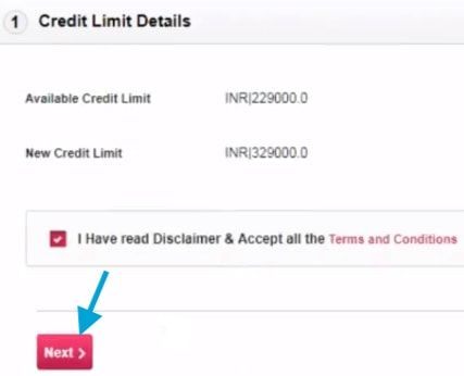 axis bank credit card limit details