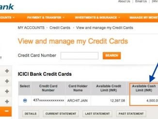 check icici credit card balance online
