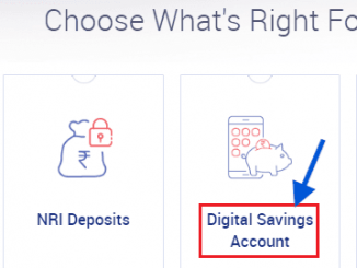 open RBL Bank Digital Savings Account