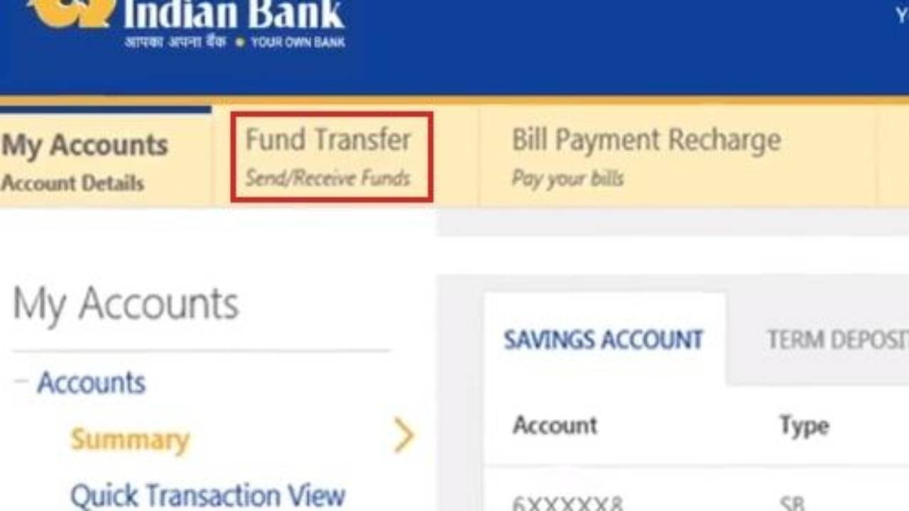 How to Transfer Money From Indian Bank to other Banks Online Wiring Money To Bank Account on