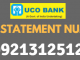 uco bank mini statement number