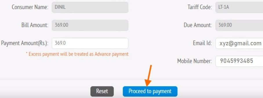 due kseb bill payment