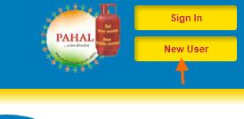 new user lpg bharat gas