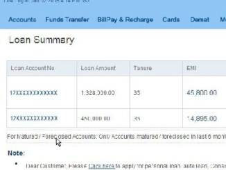 download hdfc home loan statement online