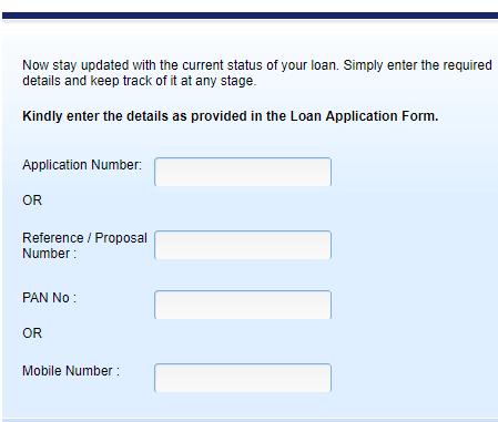 hdfc personal loan status check