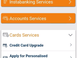 block icici credit card via imobile