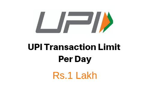 upi transaction limit per day