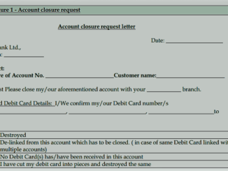 yes bank account closure form