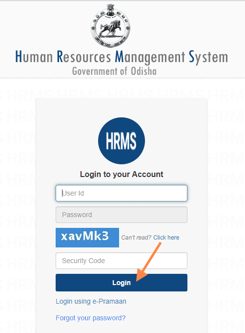 HRMS Odisha login: Download Pay Slip From HRMS odisha Gov In