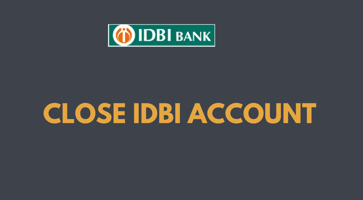 close idbi bank account