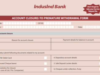 close indusind account