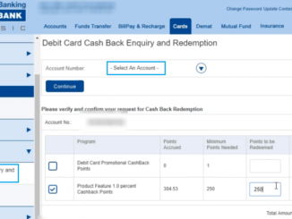 How to Redeem HDFC Debit Card Points