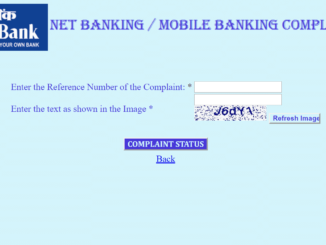 Check Indian Bank Complaint Status Online