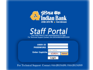 Indian Bank Staff Self Service Portal