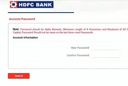 hdfc fastag password online