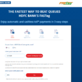 HDFC FASTag Registration using customer id