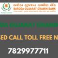 Baroda Gujarat Gramin Bank Balance Check Toll Free Number