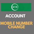 Register or Change Mobile Number in Karur Vysya Bank