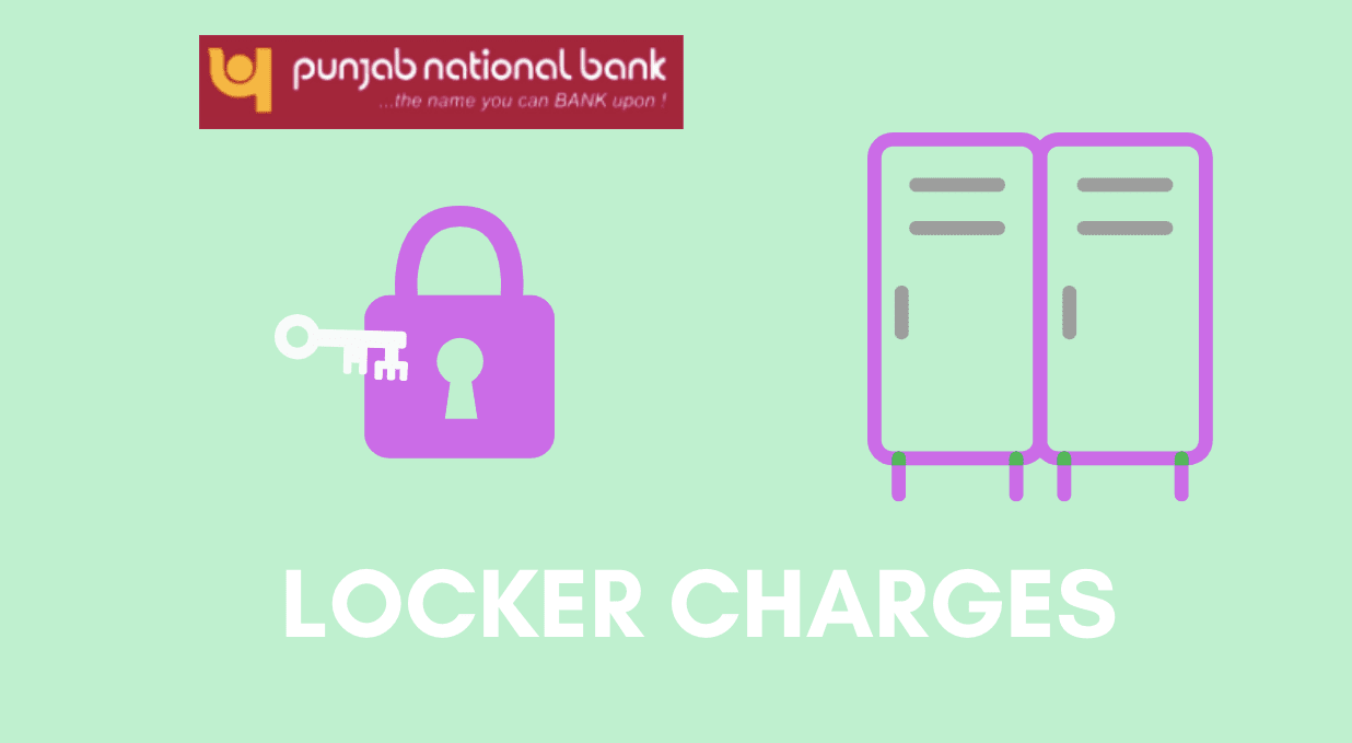 pnb locker charges