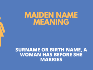 meaning of maiden name in banking form