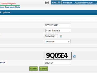 Check Pan Card Status By Name and Date of Birth