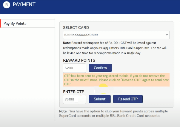 pay with rbl rewards points