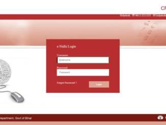 CFMS Bihar Login - Online CFMS e-Nidhi Portal