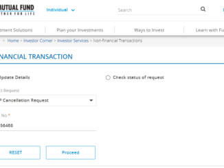 Close SBI Mutual Fund sip online