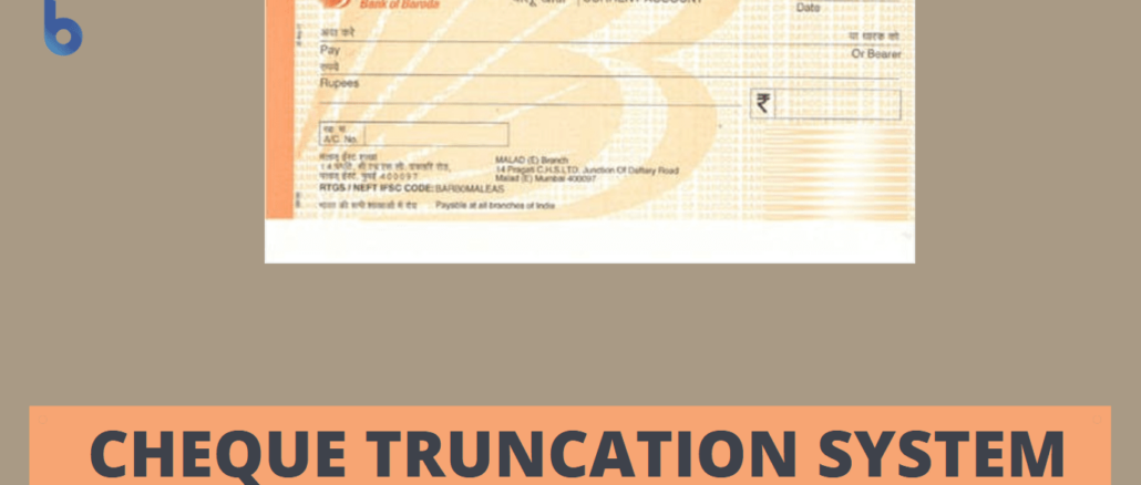 truncated cheque meaning